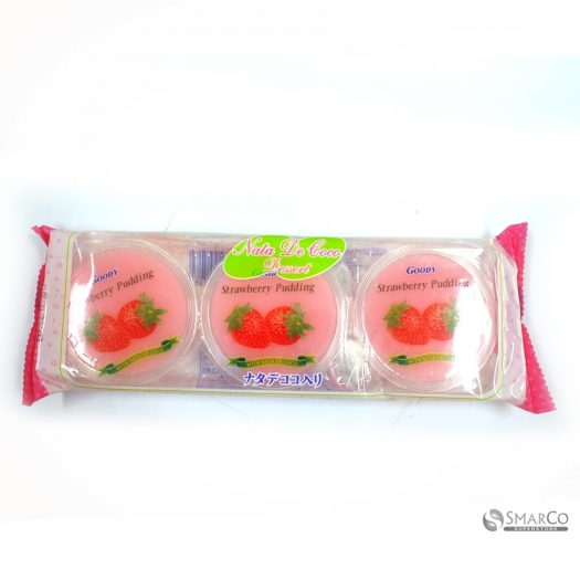 GOODY NDC PUDDING STRAWBERRY CUP 80 GR 1017050030018 9556437008061