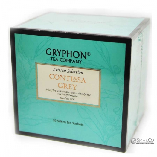 GRYPHON TEA ARTISAN CONTESSA GREY BOX 20 1014090030349 8886400774060