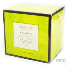 GRYPHON TEA ARTISAN LEMON GINGER MINT BO 1014090030358 8886400774121