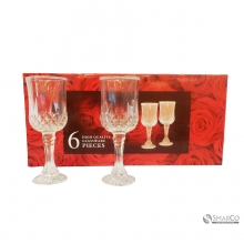 HOT SALE NEW STYLE 6 PIECES GLASS RED WINE10031986  8992017307574 2025010010292