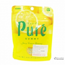 KANRO PURE GUMMY LEMON 1014050010479 4901351058626
