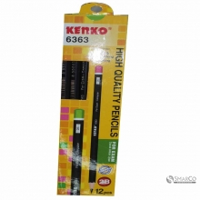 KENKO PENCIL 2B 6363 Mate Black 3036090050004 8998838681121
