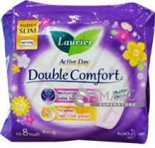 LAURIER-DOUBLE-COMFORT-PACK-8-SHEET 1011050030057  8992727004053
