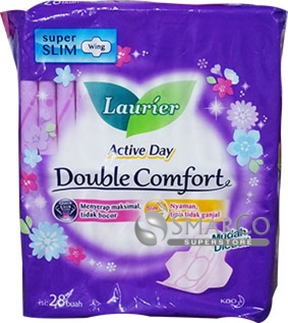 LAURIER DOUBLE COMFORT WING PACK 28 SHEET 1011050030066 8992727005098