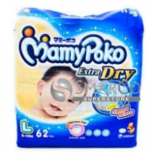 MAMY POKO DIAPERS L 62 SHEET 1015020010129 8851111400188