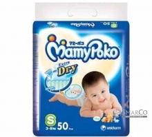 MAMY POKO DIAPERS S 50 SHEET 8851111400393