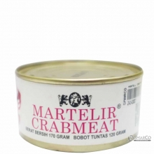 MARTELL CRAB MEAT CAN 170 GR 24143007