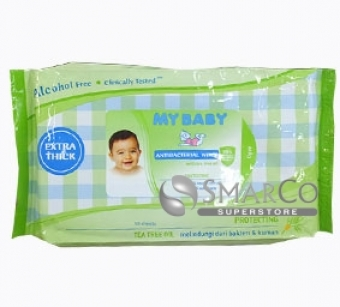 MY BABY WIPES 50 ANTIBACTERI 8999908427502