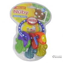 NUBY COOL BITE TEETHER WICE GEL WITH DOT 6061010061081 048526004829