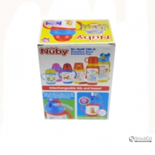 NUBY TWINHNDLE STAIN BEAR 10222 220 ML 1015030060035 48526102228