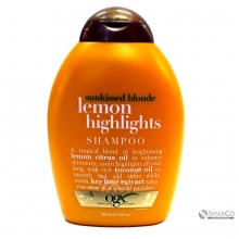 OGX SHAMPOO LEMON HIGHLIGHT 385 ML 1015060020699 022796914415