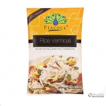 PEACOCK BROWN RICE VERMICELLI 200 GR 1014120030035 810791011327