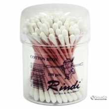 RINDI COTTON BUD 100 KASAR POT COTTON BU 6061010060880 8997010282088