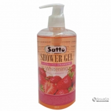 SATTO SHOWER GEL STRAWBERRY 500 ML 1015040010919 8997012939027