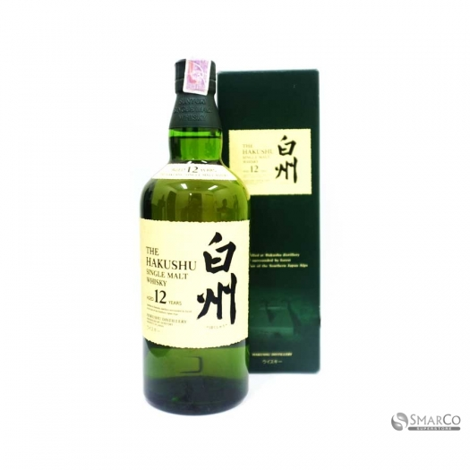 THE HAKUSHU SINGLE MALT WHISKY 12 YEARS 1012060040476 4901777159891