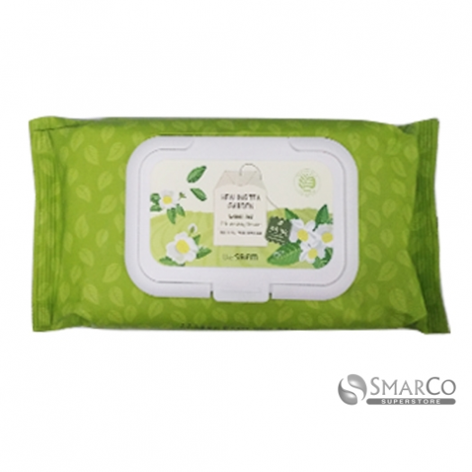 THE SAEM HEALING TEA GARDEN GREEN TEA CLEANSING TISSUE 8806164130964.