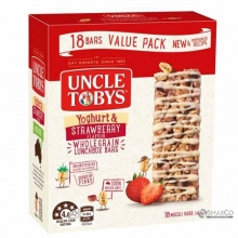UNCLE TOBY YOGHURT STRAWBERRY 185 GR 9310060406973