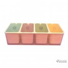 US KITCHEN 4 GROUPS SEASONING BOX AB070227090  8992017301046