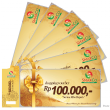VOUCHER BELANJA SMARCO SUPERSTORE 100.000