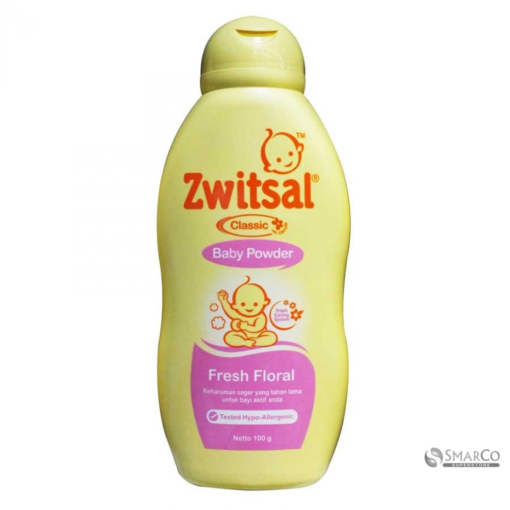 Zwitsal Baby Powder Classic Fresh Floral 100gr. Source · ZWITSAL BB PWD CLSC FRESH FLO